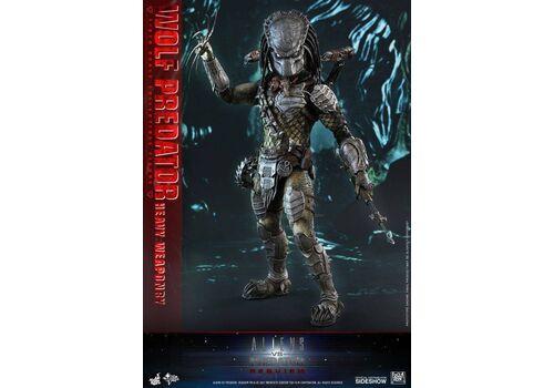 Figurka Alien vs. Predator Requiem Movie Masterpiece 1/6 Wolf Predator (Heavy Weaponry) 35 cm