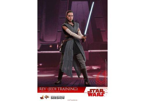 Figurka Star Wars Episode VIII Movie Masterpiece 1/6 Rey Jedi Training 28 cm