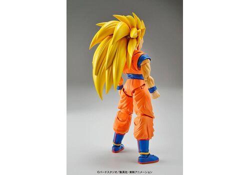 Model figurki do złożenia Dragonball Z - Super Saiyan 3 Son Goku 13 cm