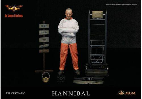 Figurka The Silence of the Lambs 1/6 Hannibal Lecter Straitjacket Ver. 30 cm