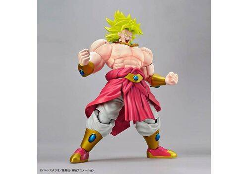 Figurka do złożenia Dragon Ball Z - Legendary Super Saiyan Broly (ruchoma)