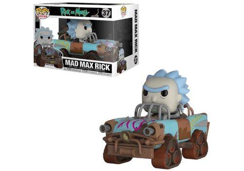Figurka z pojazdem Rick and Morty POP! - Mad Max Rick