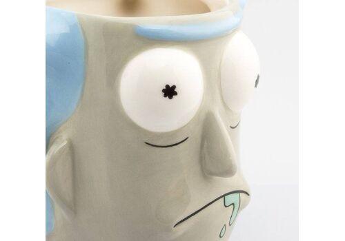 Kubek ceramiczny Rick & Morty 3D Rick Sanchez