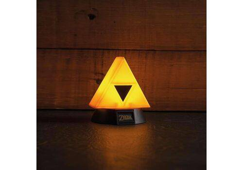 Mini Lampka Legend of Zelda 3D Triforce 10 cm