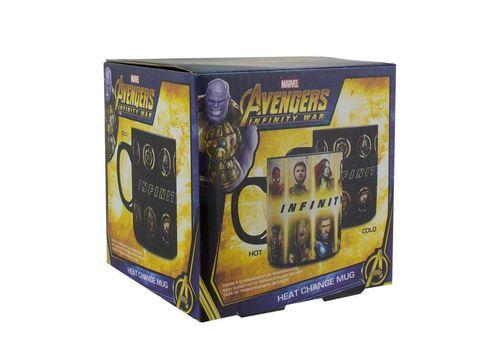 Kubek zmieniający kolor Marvel - Avengers Infinity War