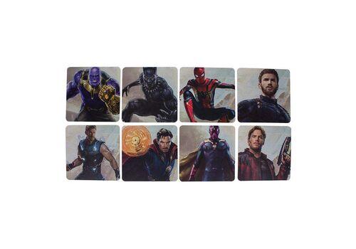 Podstawki dwustronne Marvel - Avengers Infinity War (zestaw ośmiu)