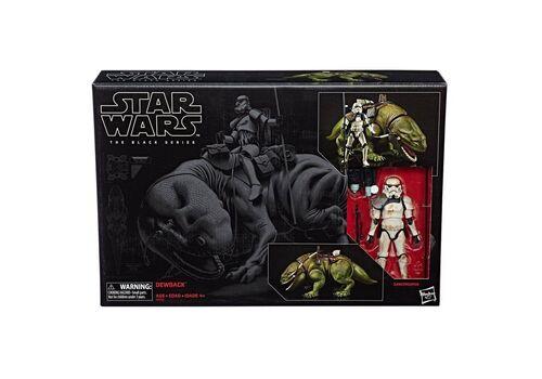 Figurka z pojazdem Star Wars Black Series - Dewback & Sandtrooper