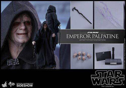 Figurka Star Wars Episode IV Movie Masterpiece 1/6 Emperor Palpatine 29 cm