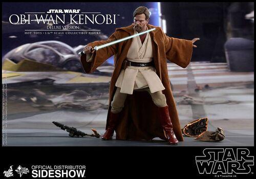 Figurka Star Wars Episode III Movie Masterpiece 1/6 Obi-Wan Kenobi Deluxe Version 30 cm