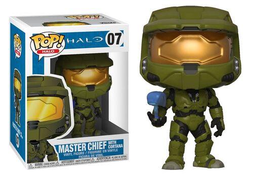Figurka Halo POP! Games - Master Chief with Cortana