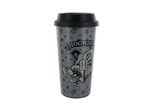 Kubek podróżny Harry Potter - Hogwart (plastikowy)