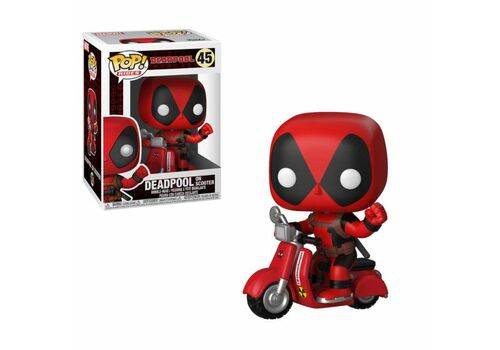 Figurka Marvel Comics POP! - Deadpool & Scooter 9 cm