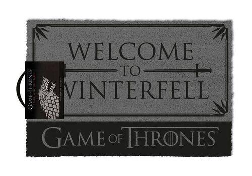 Wycieraczka Gra o Tron / Game of Thrones - Welcome to Winterfell 40 x 57 cm