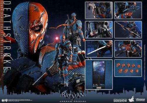 Figurka Batman Arkham Origins Videogame Masterpiece 1/6 Deathstroke 32 cm