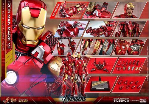 Figurka Marvel's The Avengers Diecast Movie Masterpiece 1/6 Iron Man Mark VII 32 cm