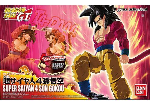 Model figurki do złożenia Dragonball Z - Super Saiyan 4 Son Goku