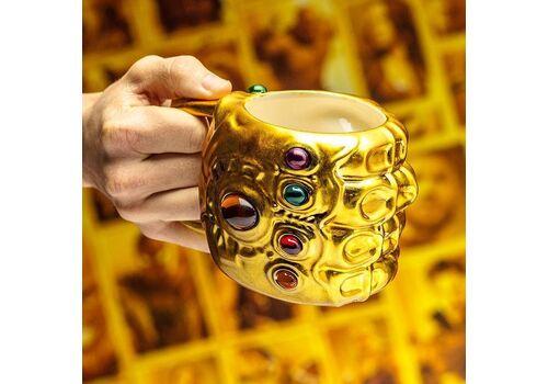 Kubek Marvel Avengers Infinity War 3D - Infinity Gauntlet