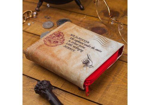 Portfel Harry Potter - List z Hogwartu