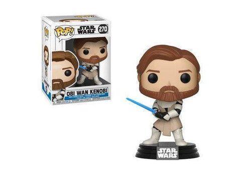 Figurka Star Wars Clone Wars POP! - Obi Wan Kenobi 9 cm