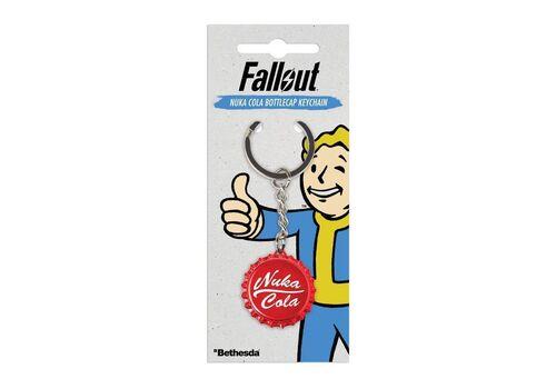 Brelok z metalu Fallout - Nuka Cola Bottlecap