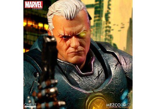 Figurka Marvel 1/12 Cable (z podświetlaniem) 17 cm