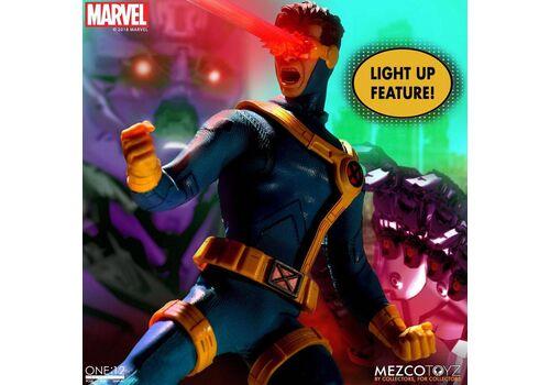 Figurka Marvel 1/12 Cyclops (z podświetlaniem) 16 cm