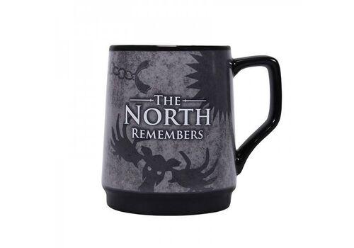 Kubek zmieniający kolor Gra o tron - The North Remembers