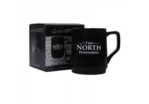 Kubek zmieniający kolor Game of Thrones / Gra o tron - The North Remembers