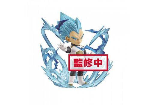 Figurka Dragon Ball Super WCF ChiBi Burst - Super Saiyan Blue Vegeta 7 cm