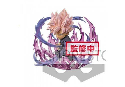 Figurka Dragon Ball Super WCF ChiBi Burst - Super Saiyan Rose Goku Black 7 cm