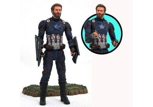 Figurka Avengers Infinity War Marvel Select - Captain America