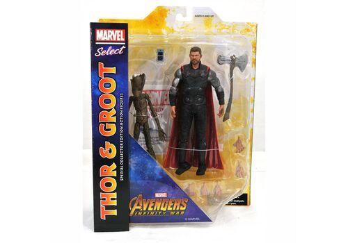 Zestaw figurek Avengers Infinity War Marvel Select - Thor & Groot
