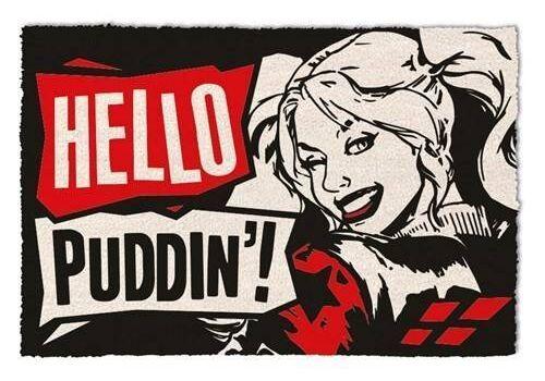 Wycieraczka DC Comics - Harley Quinn Hello Puddin' 40 x 60 cm