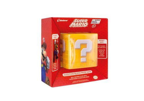 Skarbonka Super Mario - Question Block (z labiryntem)