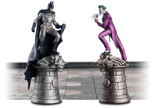 Szachy kolekcjonerskie DC Comics - Batman (32 metalowe figurki)