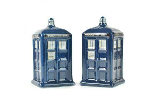 Zestaw solniczka i pieprzniczka Doctor Who - Tardis