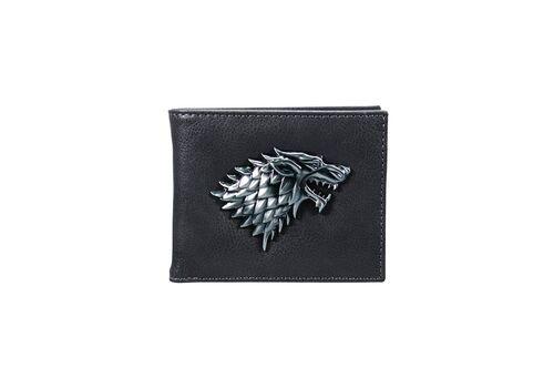 Portfel z metalowym logo Game of Thrones / Gra o tron - Stark