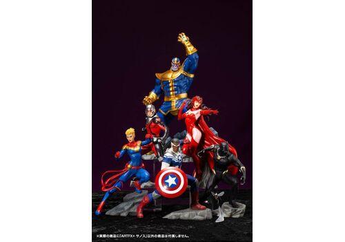 Zdjęcie poglądowe całej kolekcji figurek Avengers w tej serii.