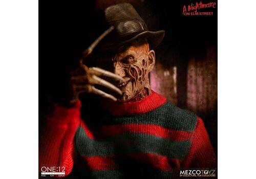 Figurka Nightmare On Elm Street 1/12 Freddy Krueger 17 cm