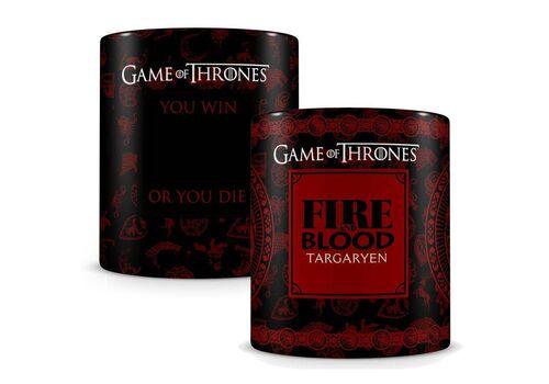 Kubek zmieniający kolor Game of Thrones / Gra o tron - Targaryen