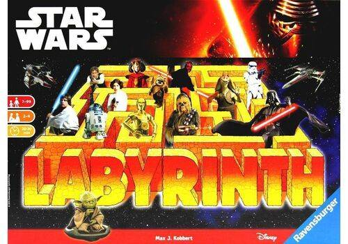 Gra planszowa Labirynt Star Wars