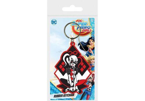 Brelok gumowy DC Super Hero Girls - Harley Quinn