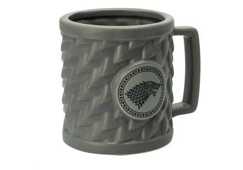 Kubek ceramiczny Gra o Tron 3D Stark