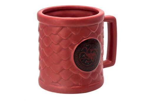 Kubek ceramiczny Gra o Tron 3D Targaryen