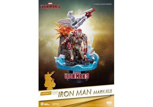 Figurka Iron Man 3 D-Select - Iron Man Mark XLII