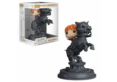 Figurka Harry Potter POP! Movie Moments - Ron Riding Chess Piece