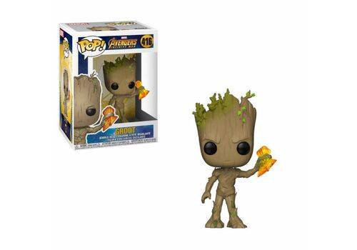 Figurka Avengers Infinity War POP! - Groot with Stormbreaker