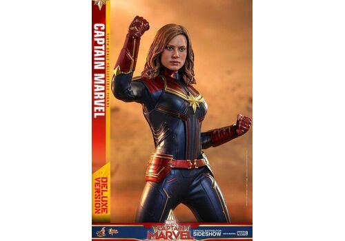 Figurka Captain Marvel Movie Masterpiece 1/6 Captain Marvel Deluxe Ver.
