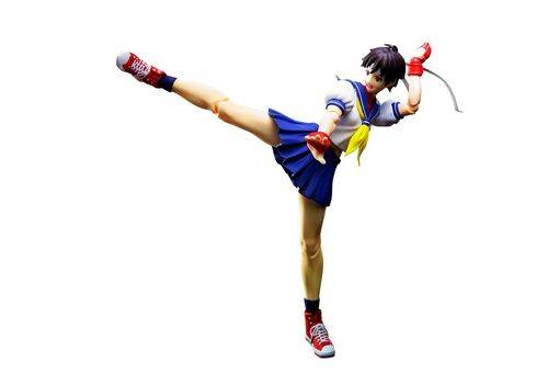 Figurka Street Fighter S.H. Figuarts - Sakura Kasugano, zdjęcie 1