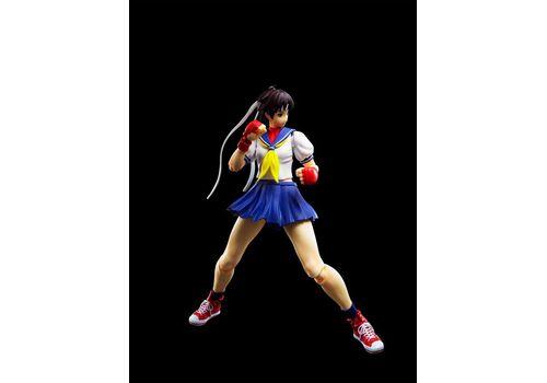 Figurka Street Fighter S.H. Figuarts - Sakura Kasugano, zdjęcie 3